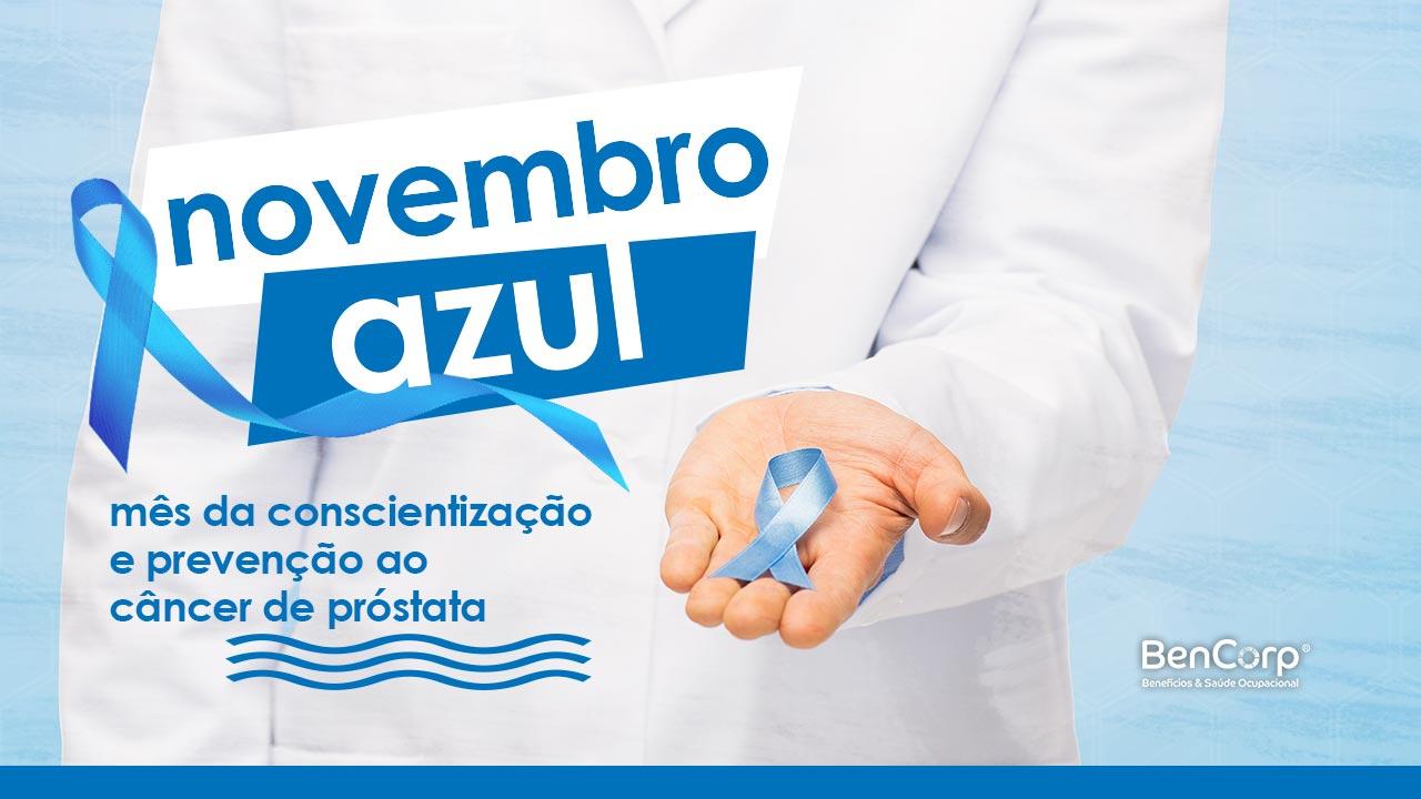 A saúde do homem e o Novembro Azul - BenCorp