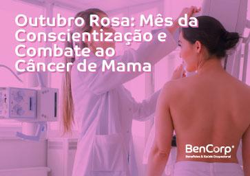 Outubro Rosa: Mês da Conscientização e Combate ao Câncer de Mama